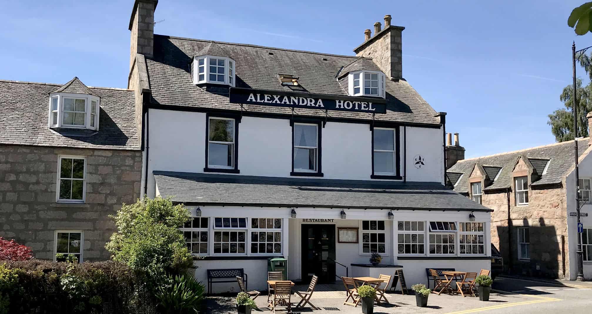 hotels in ballater - Alexandra Hotel