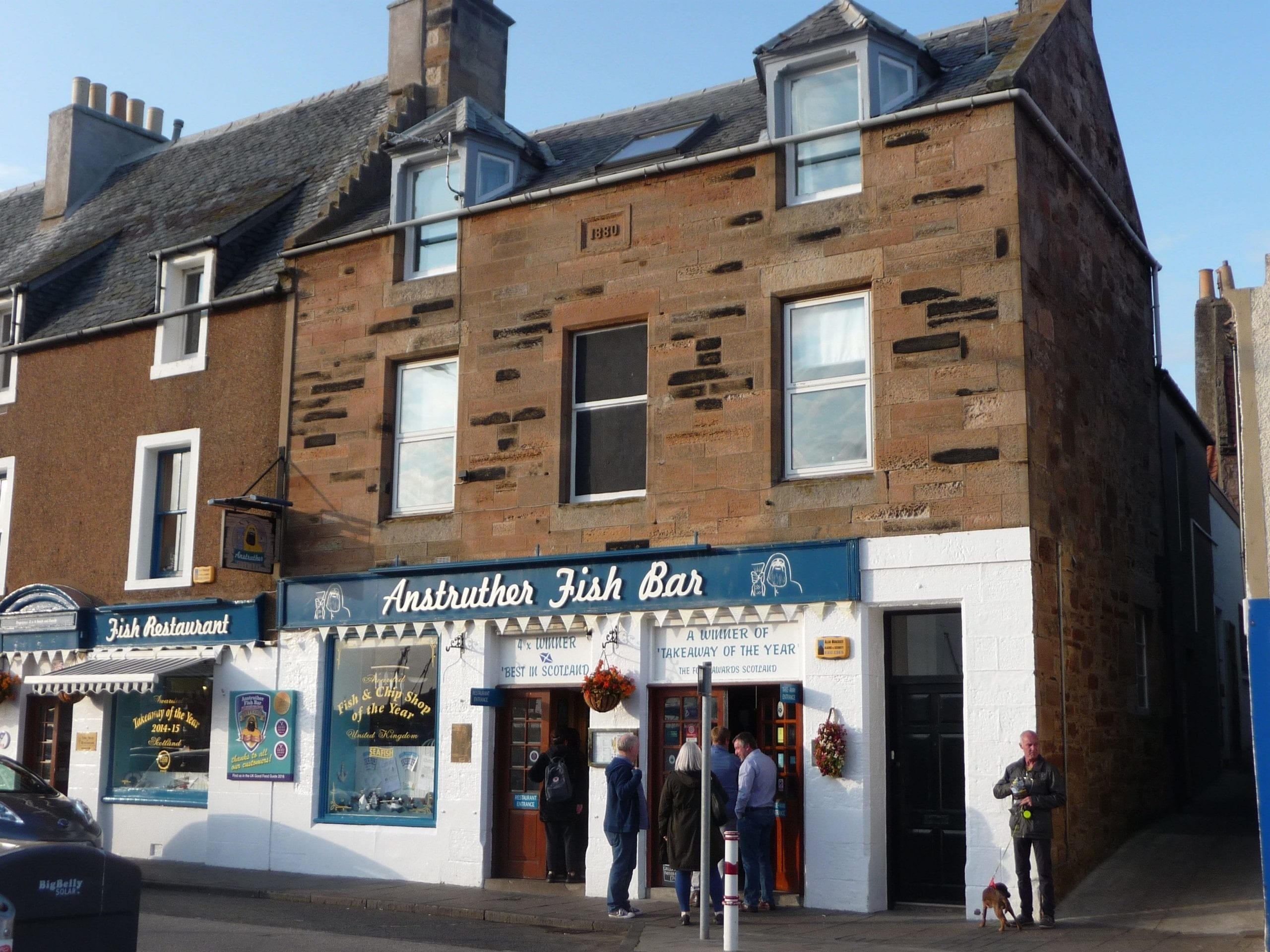 Anstruther fish bar things to do in anstruther