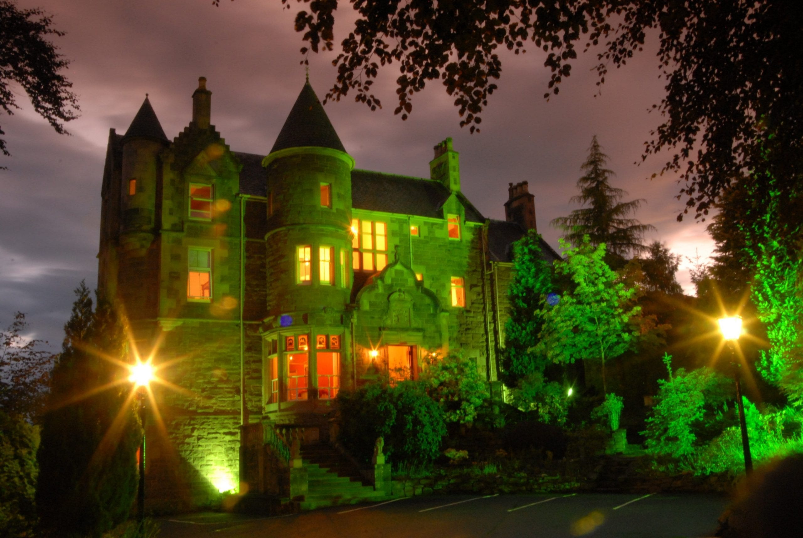 Knock Castle is one of the top hotels in crieff