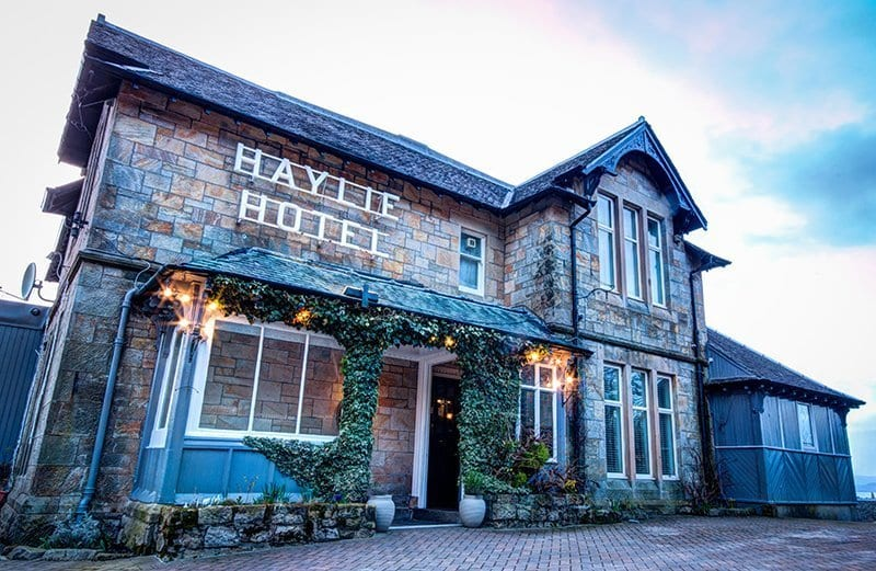 Haylie Hotel is one of the top hotels in Largs