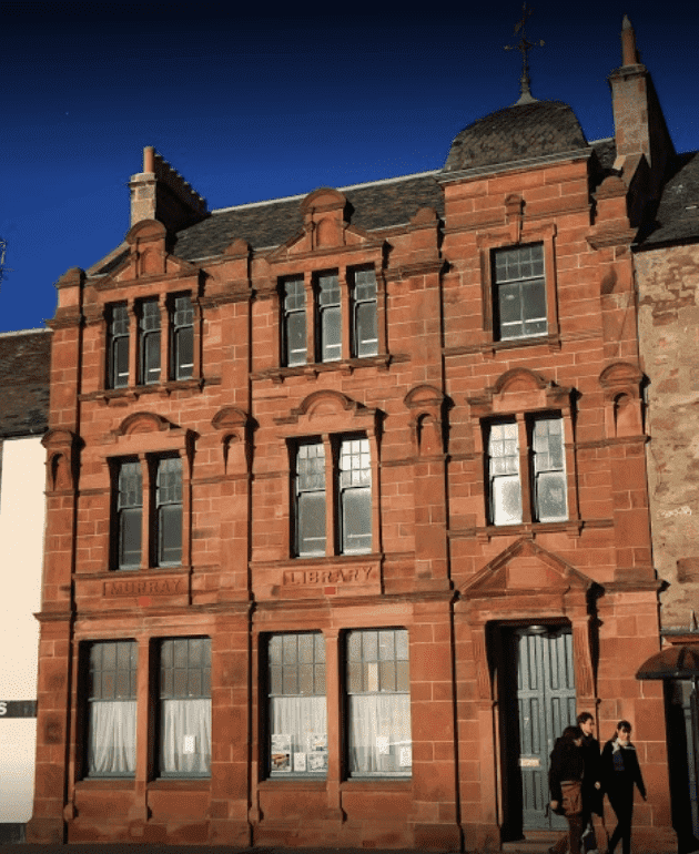 Murry Library Hostel accommodation in anstruther