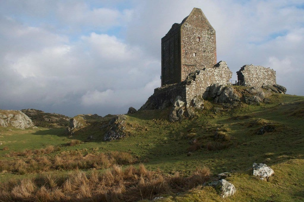 Smailholm tower things to do kelso