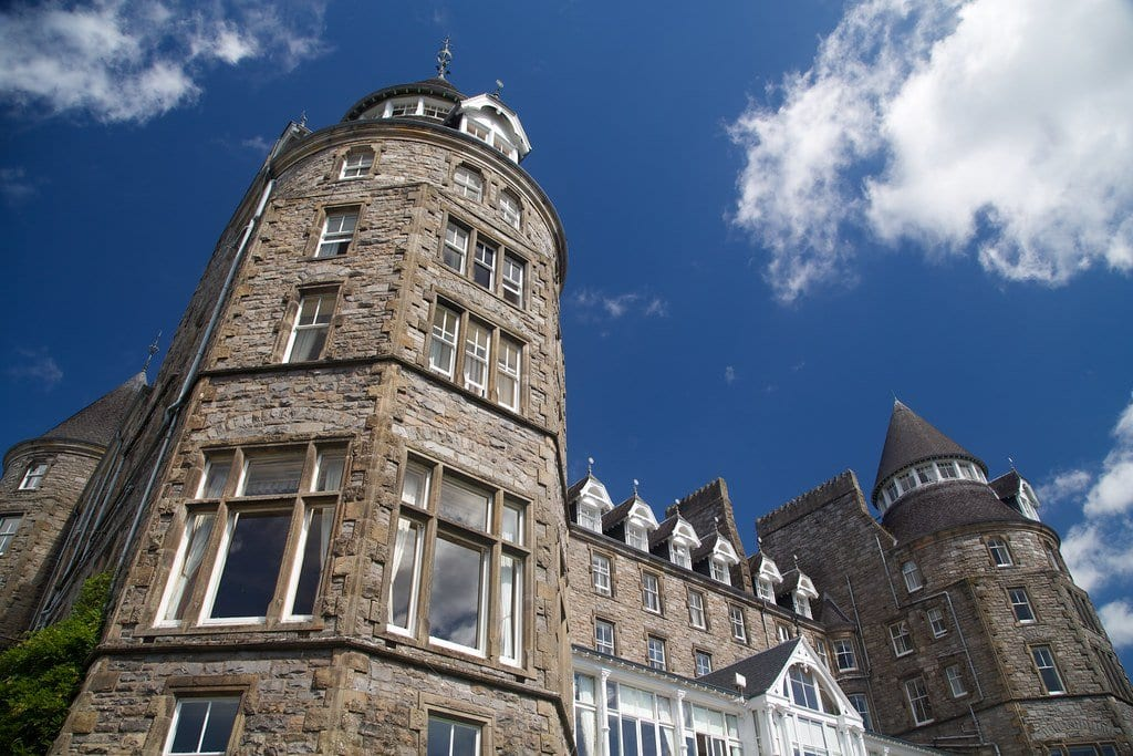 Atholl Palace Hotel in Pitlochry