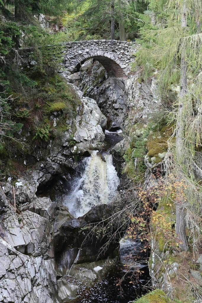 things to do in Pitlochry 3 - Falls of Bruar
