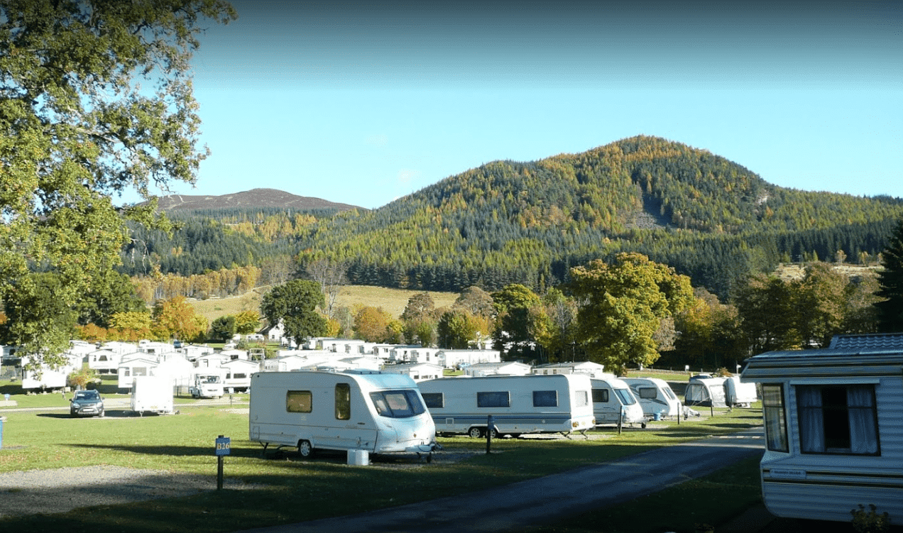 Faskally holiday park pitlochry