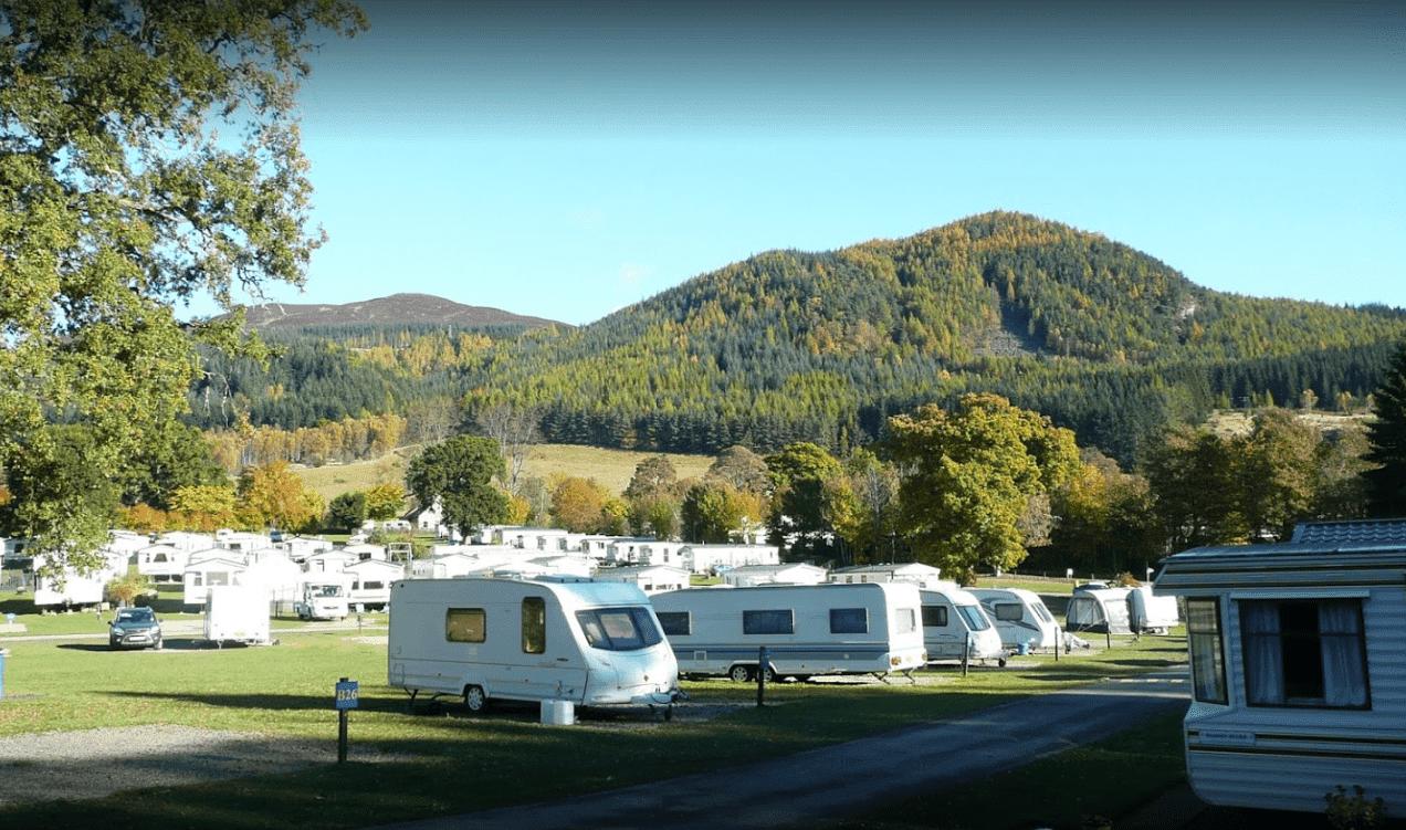 Faskally holiday park pitlochry
