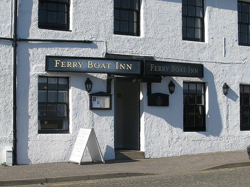 The Ferry Boat Inn is a good accomodation in ullapool