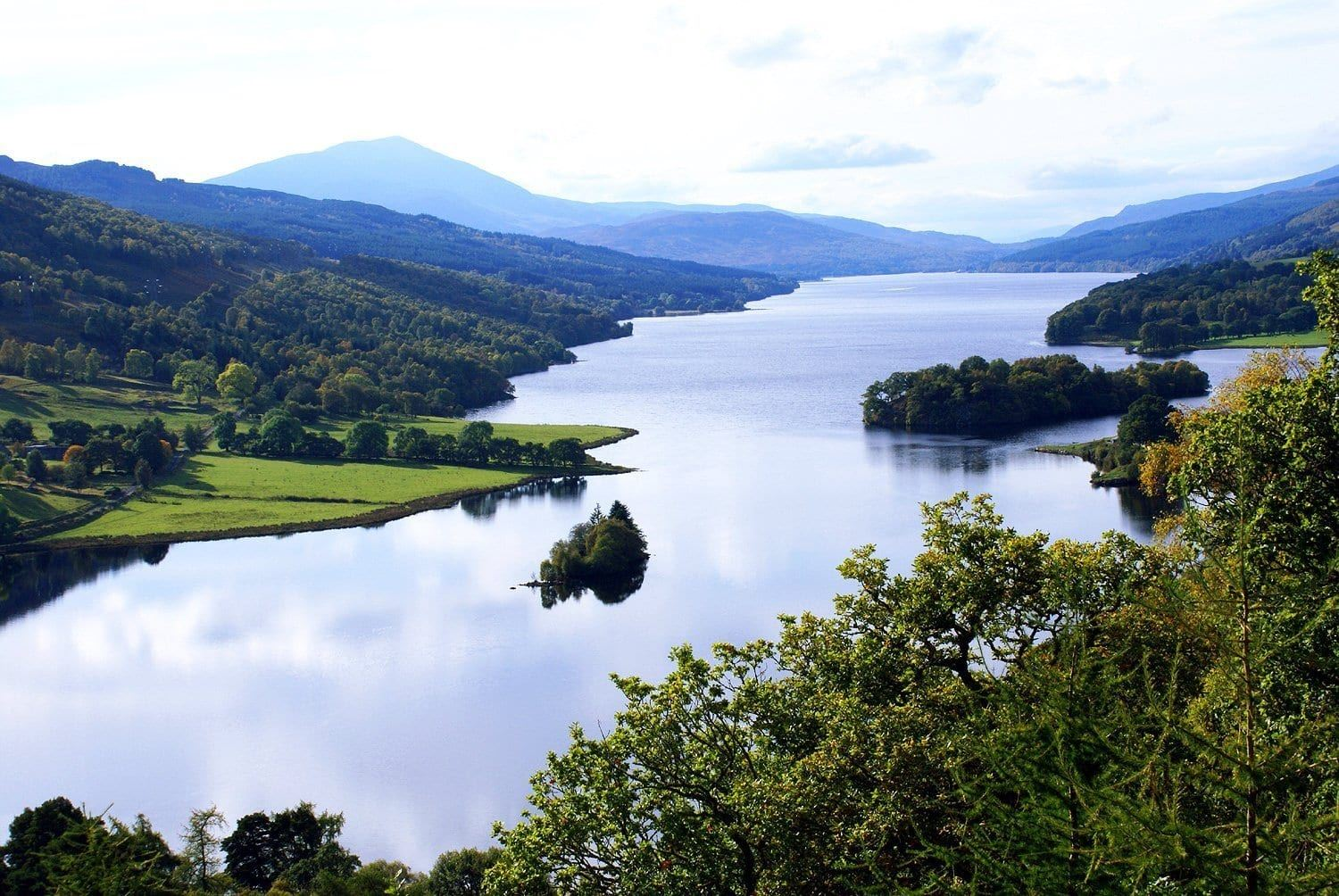 things to do in Pitlochry 2 - Queen's View river Tummell