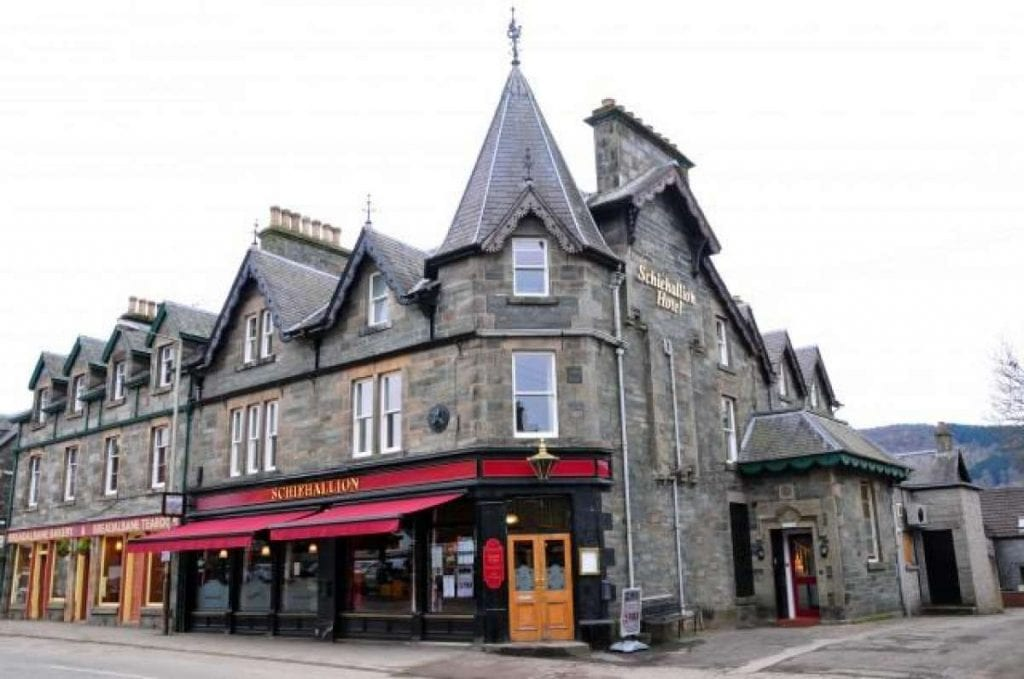 Hotels in Aberfeldy