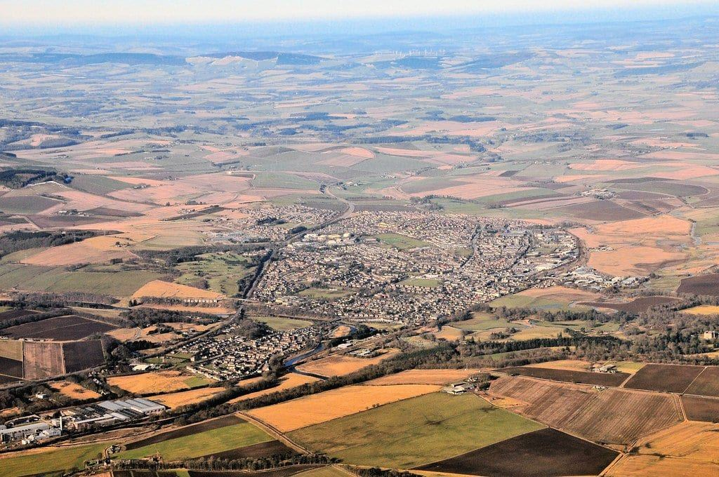 Iverurie from the Sky - things to do in Inverurie