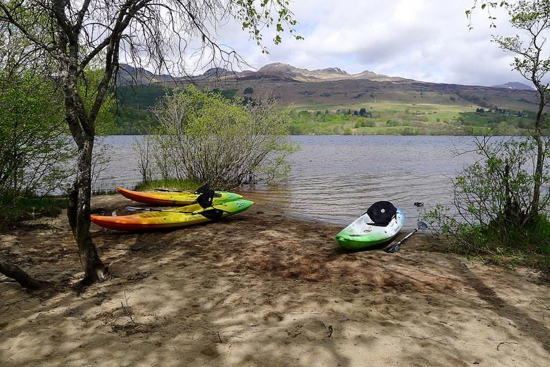 Kayaking in Lochearnhead