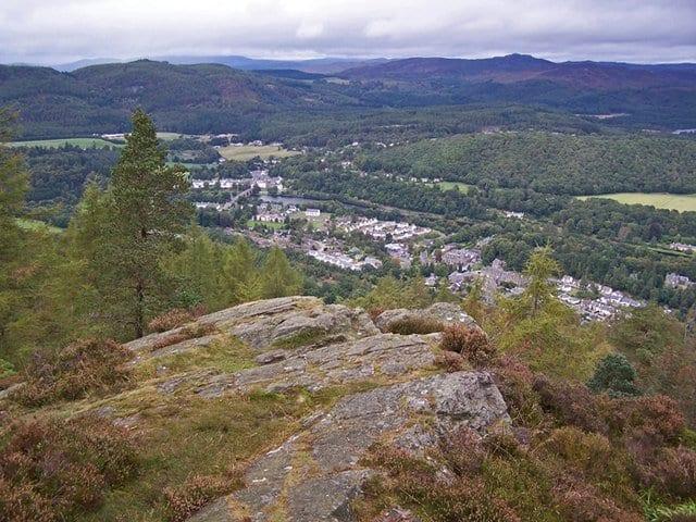 Birnam Hill: things to do in Dunkeld