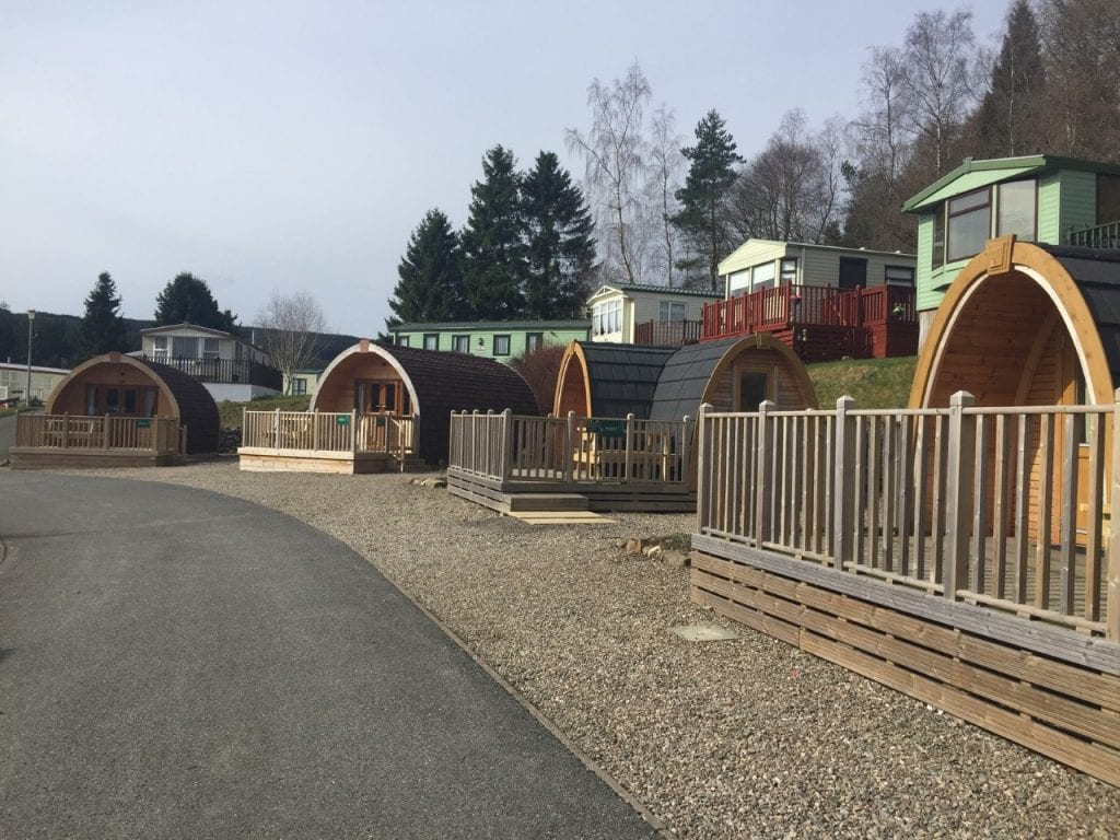 Corriefodly Glamping Pods