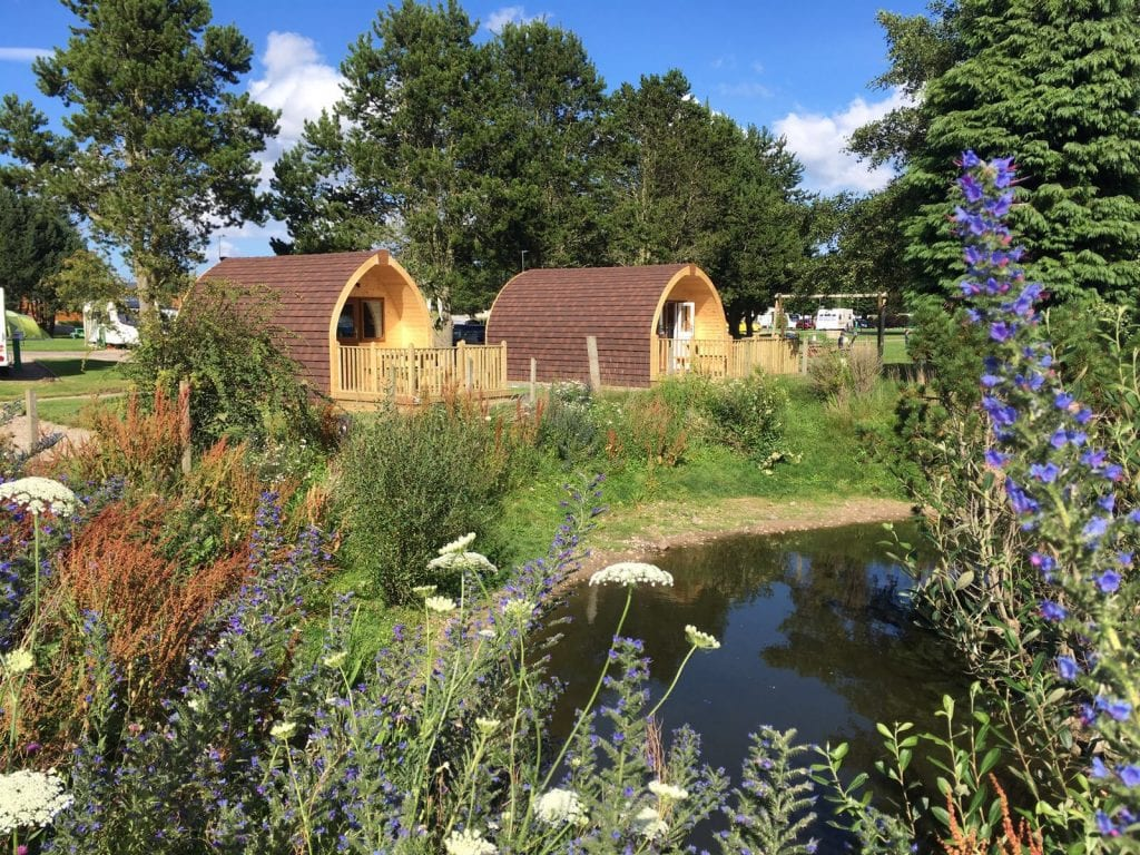 Deeside Holiday Park Glamping Pods