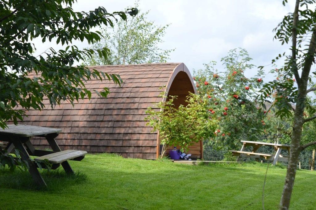 Eco Camp Glenshee Glamping Pods