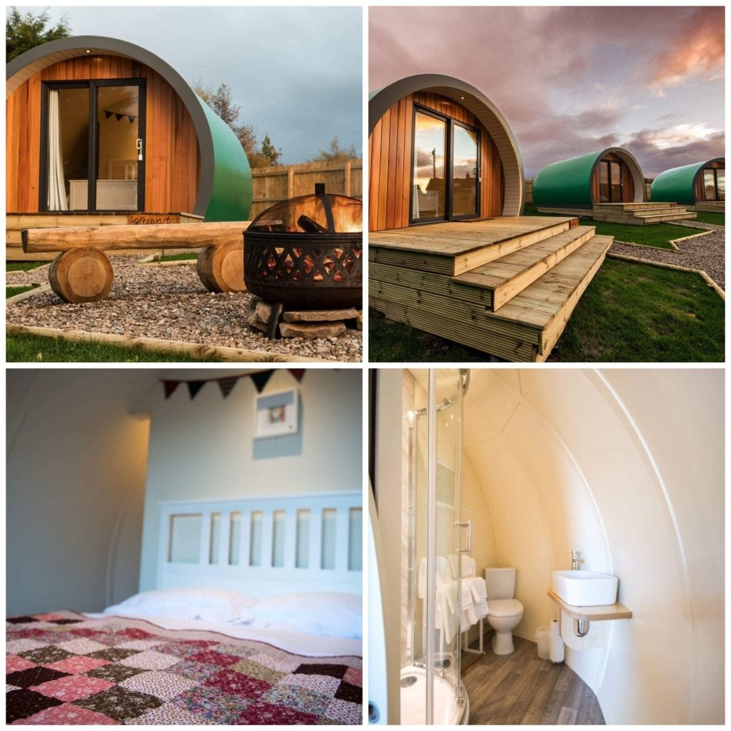 Inverness Glamping Pods