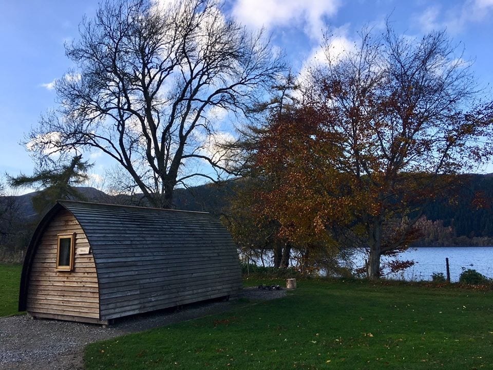 Loch Ness Shores Glamping Pods