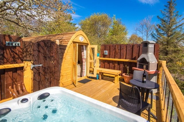 Mountview Lochinver Glamping Pods