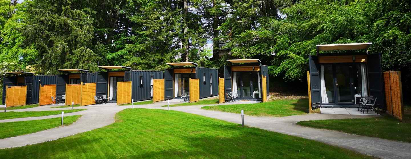 Glamness Luxury Shipping Containers