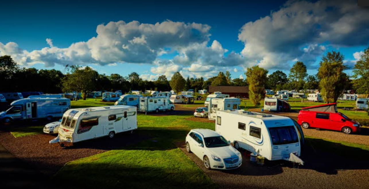 Strathclyde Country Park Caravan Club Site