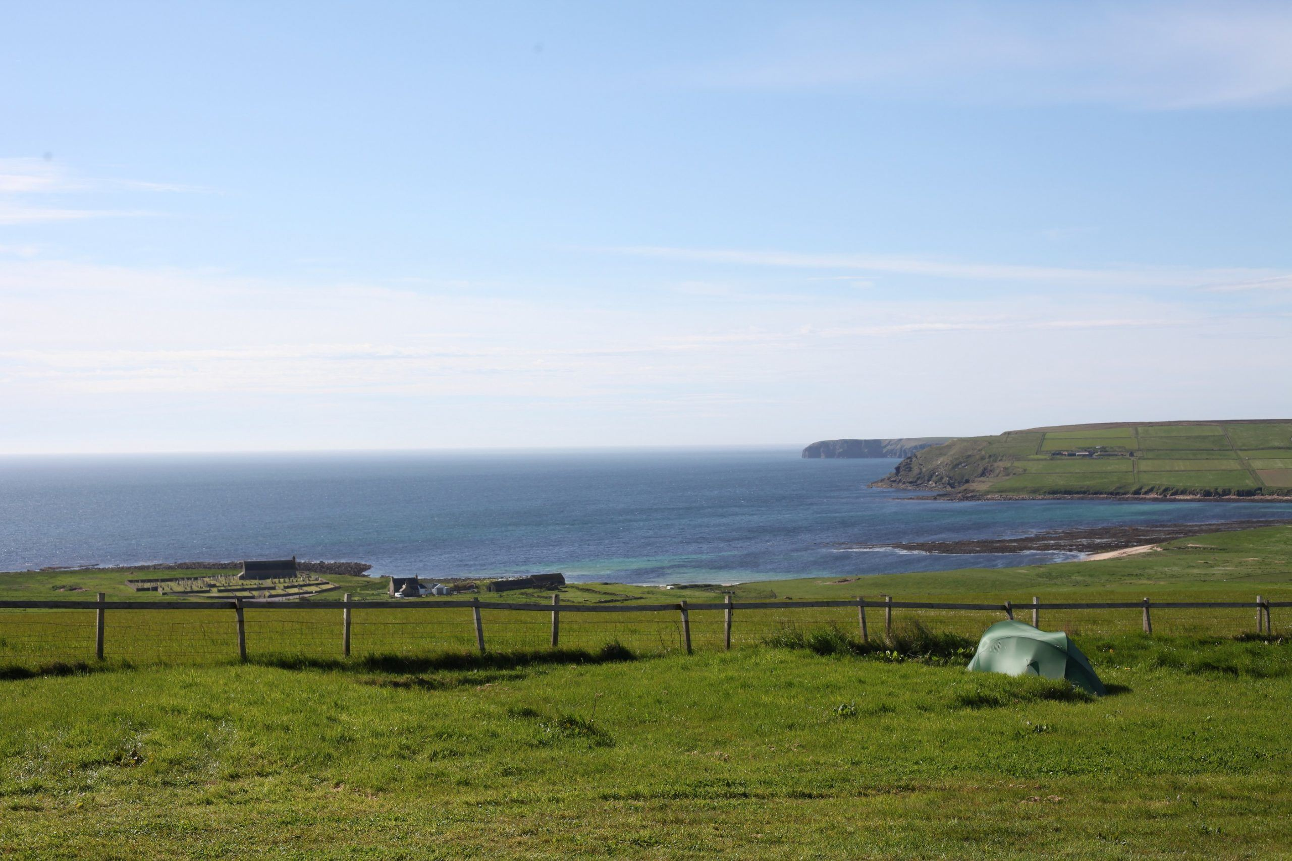 Wheems Organic Farm Orkney Bothies & Camping