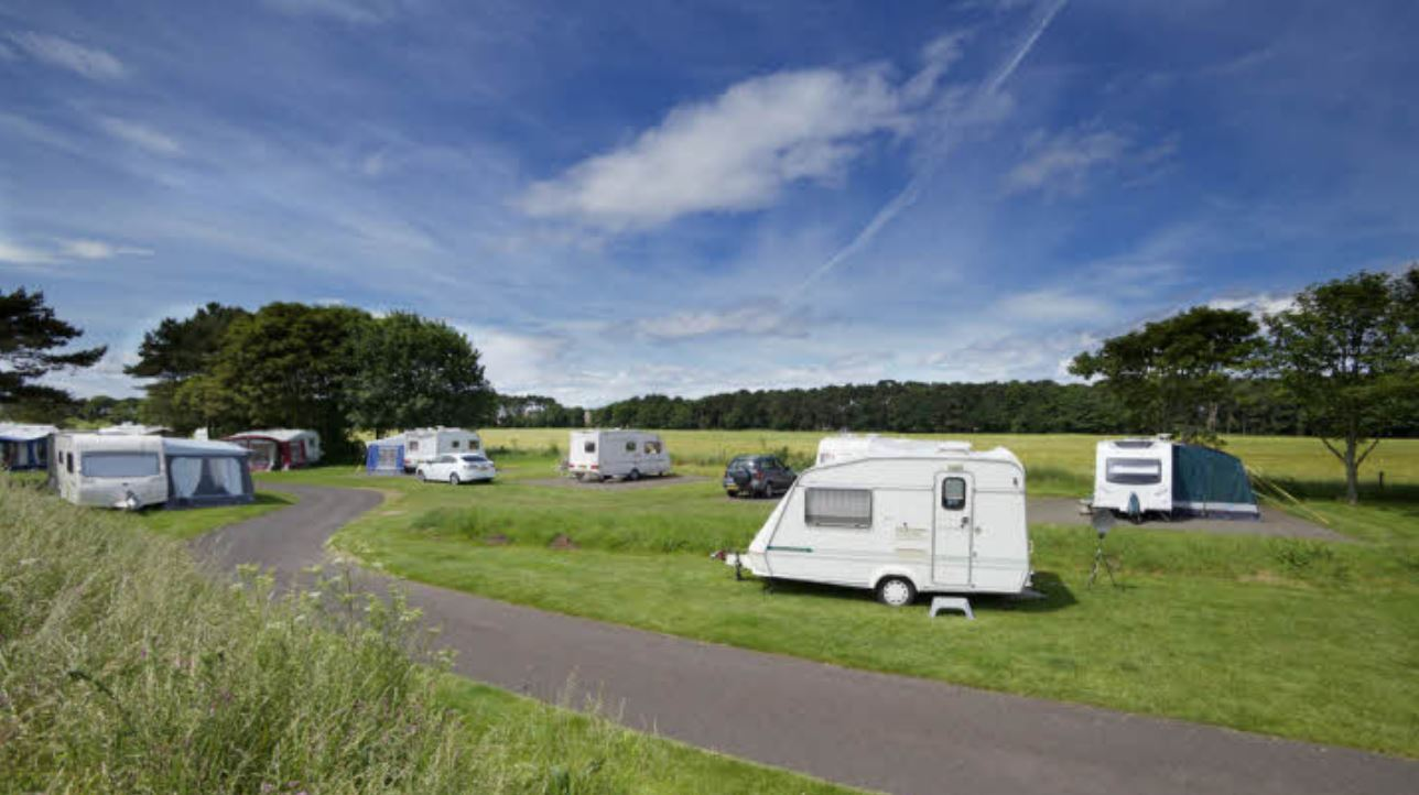 Yellowcraig Caravan and Motorhome Club Site